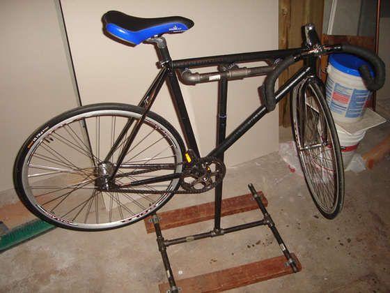 Diy Home Bicycle Repair Stand Bicycle Bicycle Diy Bike Stand