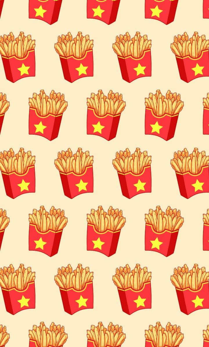 Cute French Fry Phone Wallpaper Tumblr Wallpaper Cute Wallpaper