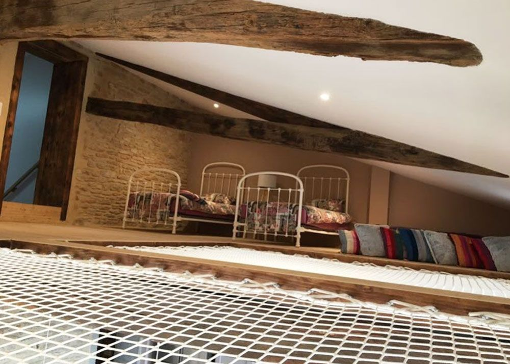 Filet De Catamaran Installe En Interieur Dans Une Maison De Campagne Entierement Renove Installation De 2 Filets De R Maison De Campagne Devis En Ligne Maison
