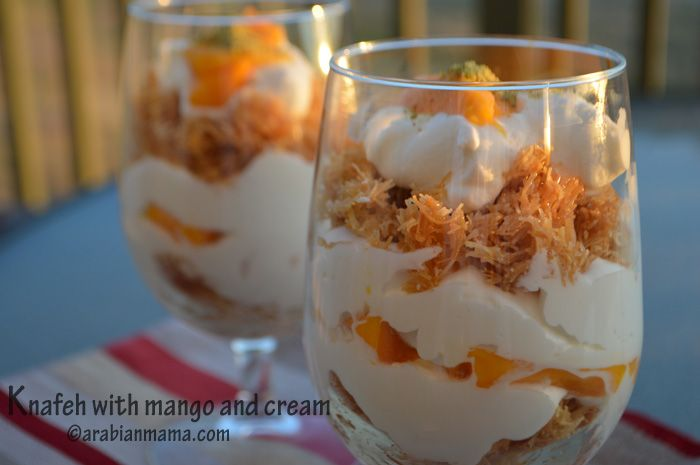 Knafeh Recipe Middle Eastern Desserts Ramadan Desserts Food