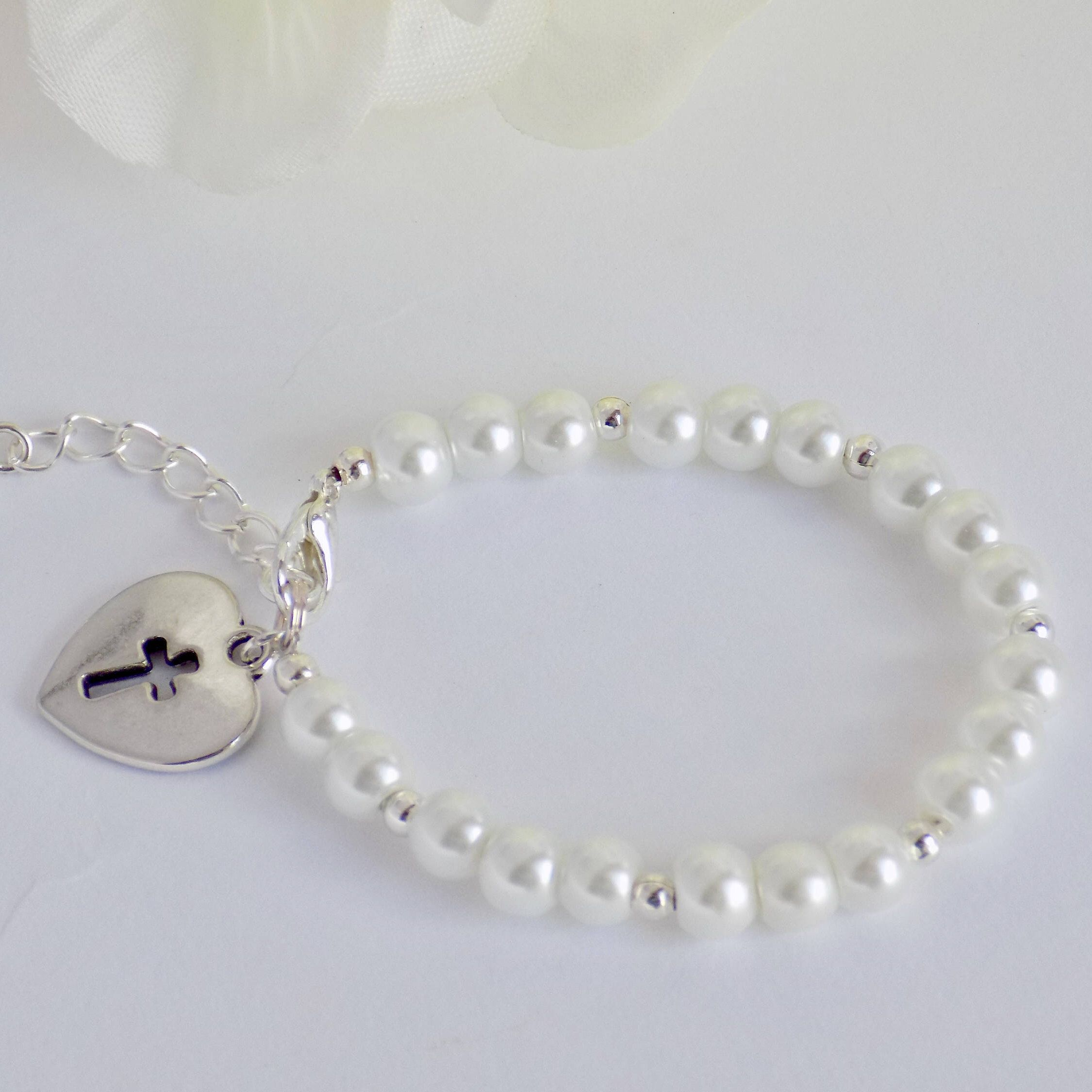 Communion bracelet holy communion bracelet first communion gift