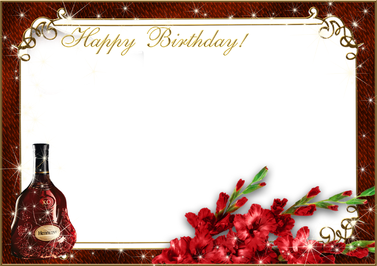 Birthday Frame Png Happy Birthday Png