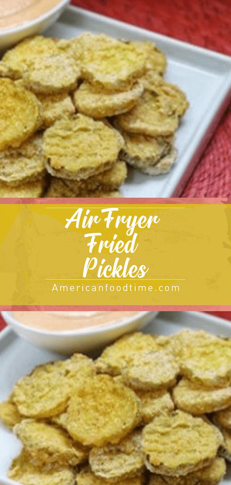 Air Fryer Fried Pickles in 2020 Fried pickles, Pickling