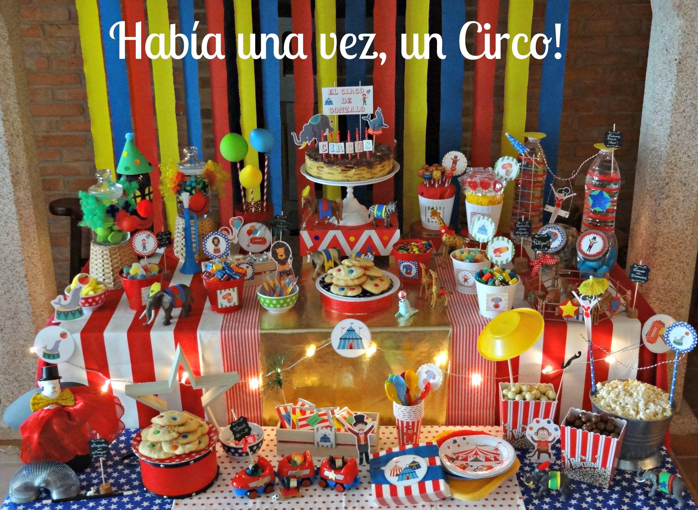 Circus Party Fiesta Circo