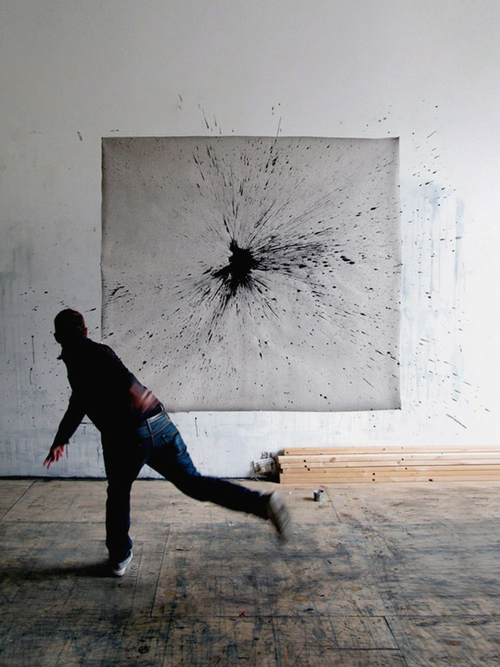 How about this kind of artwork for the living room the older could