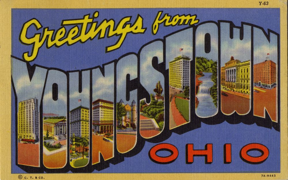 Todos os tamanhos Greetings from Youngstown, Ohio - Large Letter - letter greetings