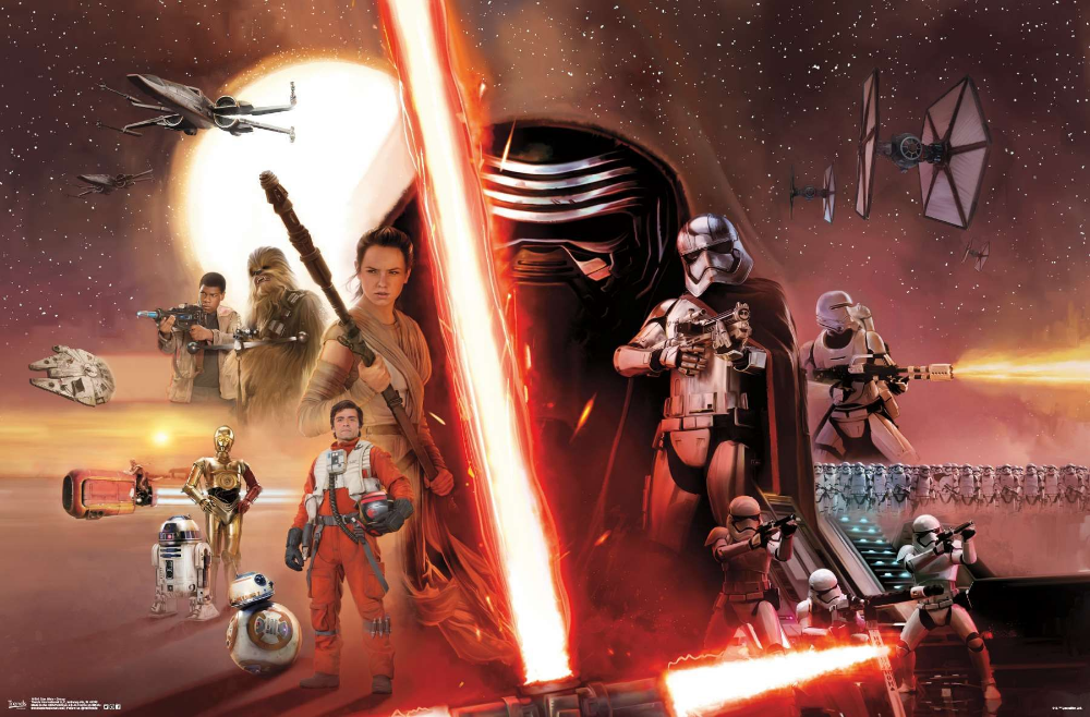 Star Wars: The Force Awakens - Group #fondecrannoel