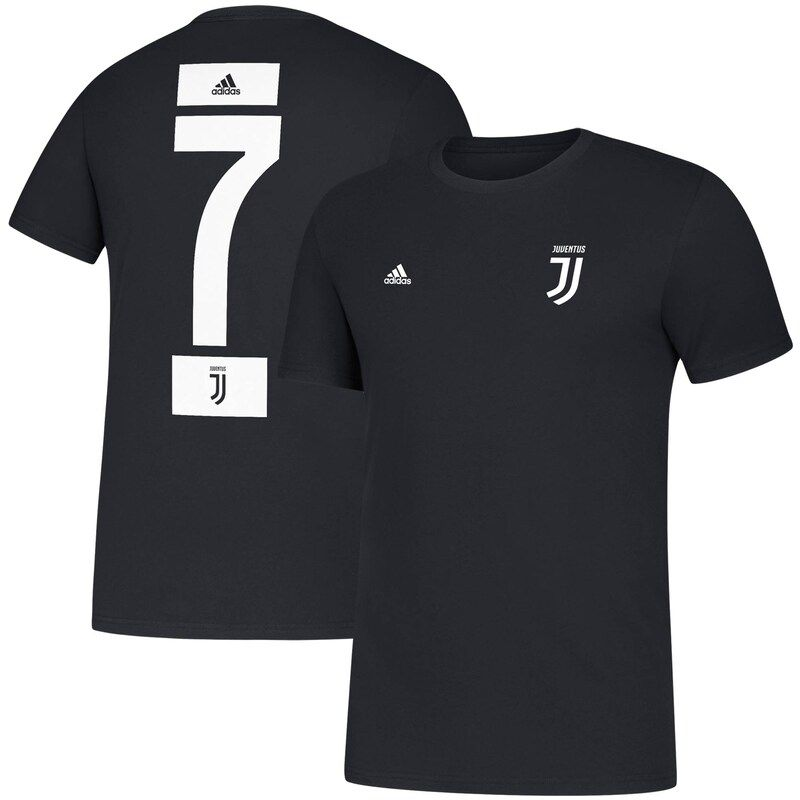 You're a huge supporter of Cristiano Ronaldo and think he's one of the best players that's ever played. Show off your loyalty by getting this Cristiano Ronaldo Juventus Amplifier Name and Number T-shirt from adidas. It features stunning Juventus graphics on the front and back, perfect for ensuring everyone knows who you support on game day.