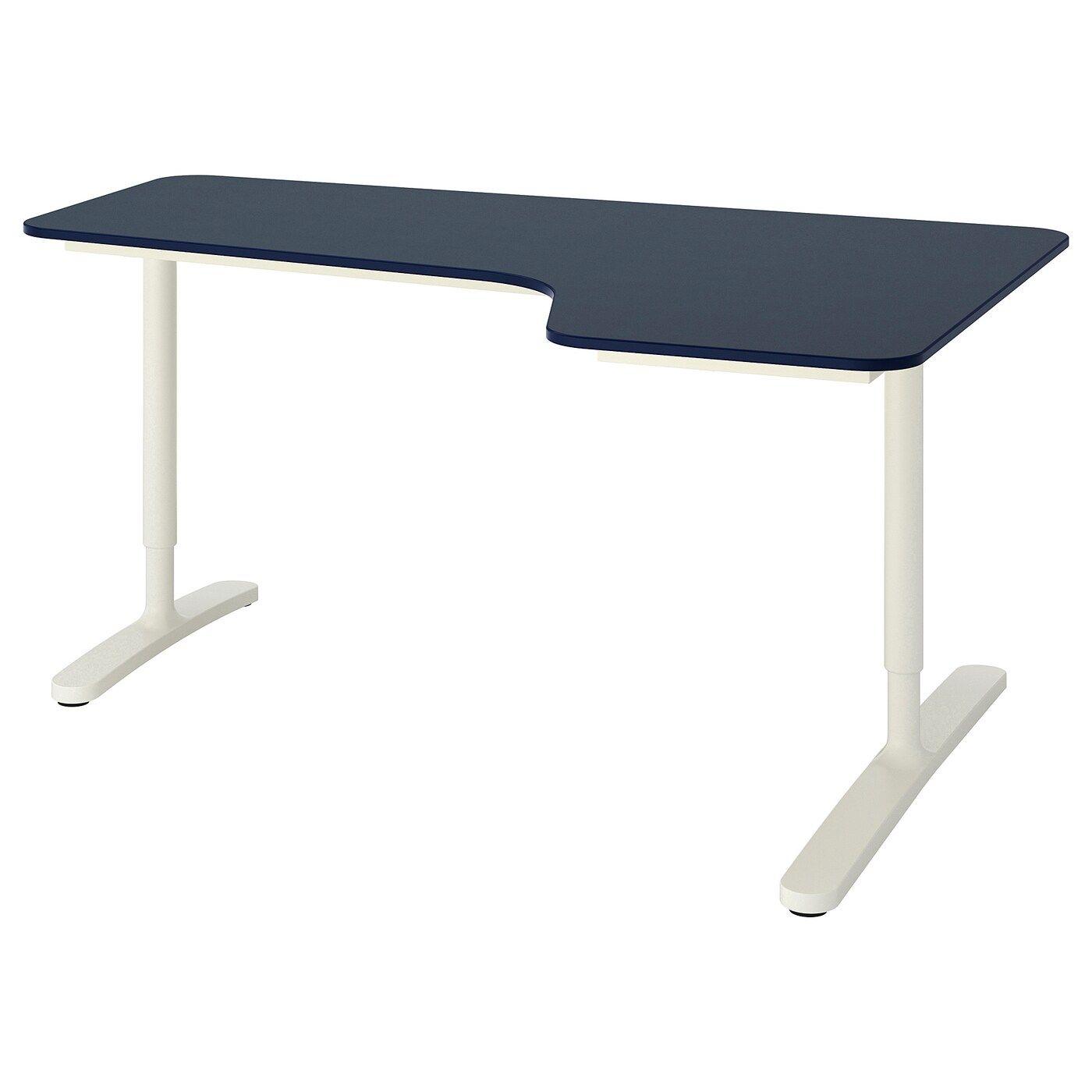 Bekant Hoekbureau Rechts In 2020 Ikea Ikea Bekant Corner Table