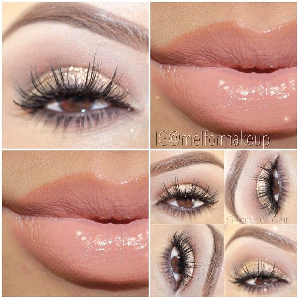 Light Colored Prom Makeup