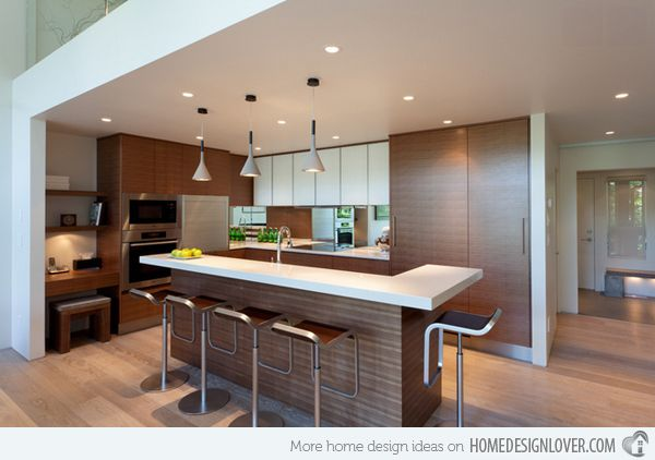15 Astonishing Contemporary L Shaped Kitchen Layouts Home Design Lover Contemporary L Shaped Kitchens Modern L Shaped Kitchens L Shaped Kitchen