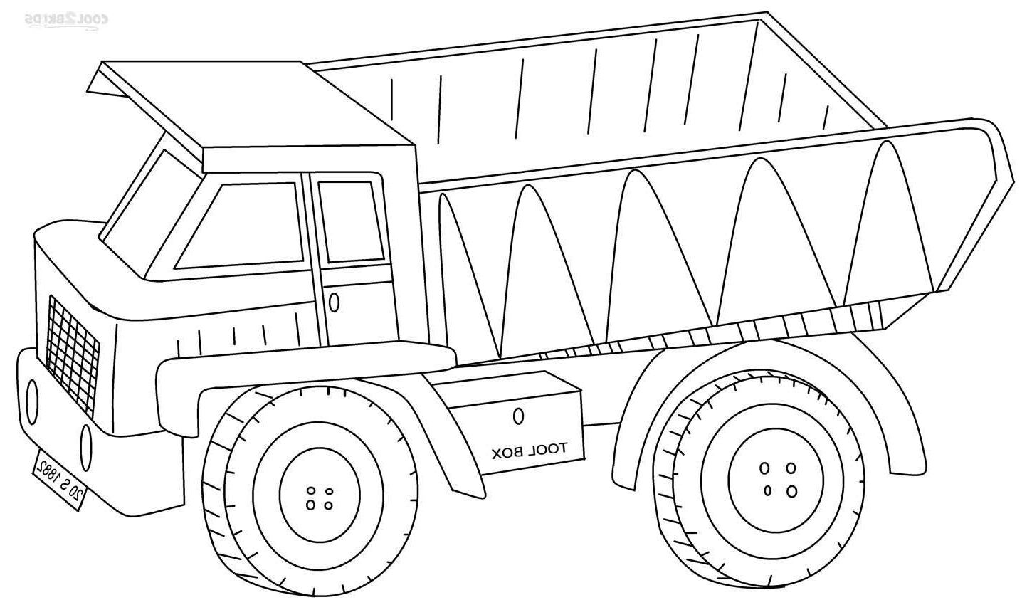 12 Grand Coloriage Camion Benne Photograph Coloriage Camion Coloriage Dessin Camion