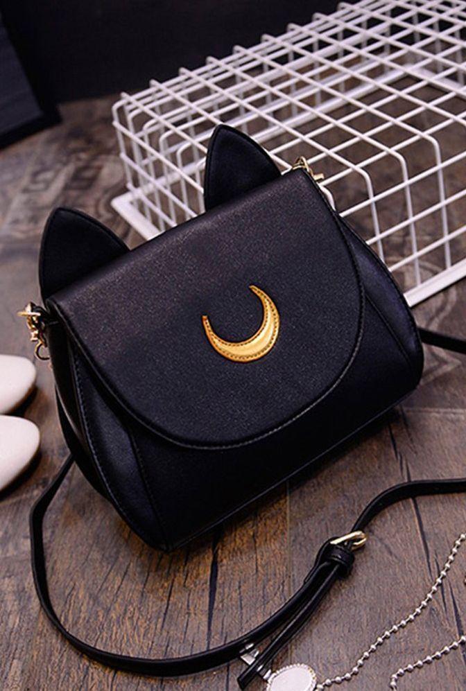 f9e5b48d62 Sailor Moon handbag  purse  bag  cat