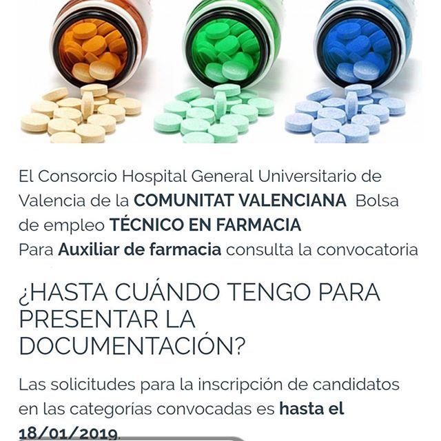 hospital general valencia bolsa trabajo