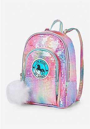 Unicorn Sequin Mini Backpack  56a17d930cb6c