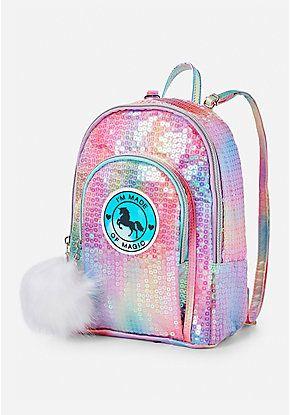 Unicorn Sequin Mini Backpack  023f74e440