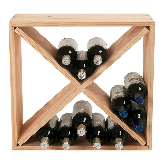 Attractive Buy Wine Enthusiast Wooden Wine Rack Cube From At Bed Bath U0026 Beyond. This  Handsome Wine Rack Cube Maximizes Space, Provides Ample Storage And Even  Adds A ...