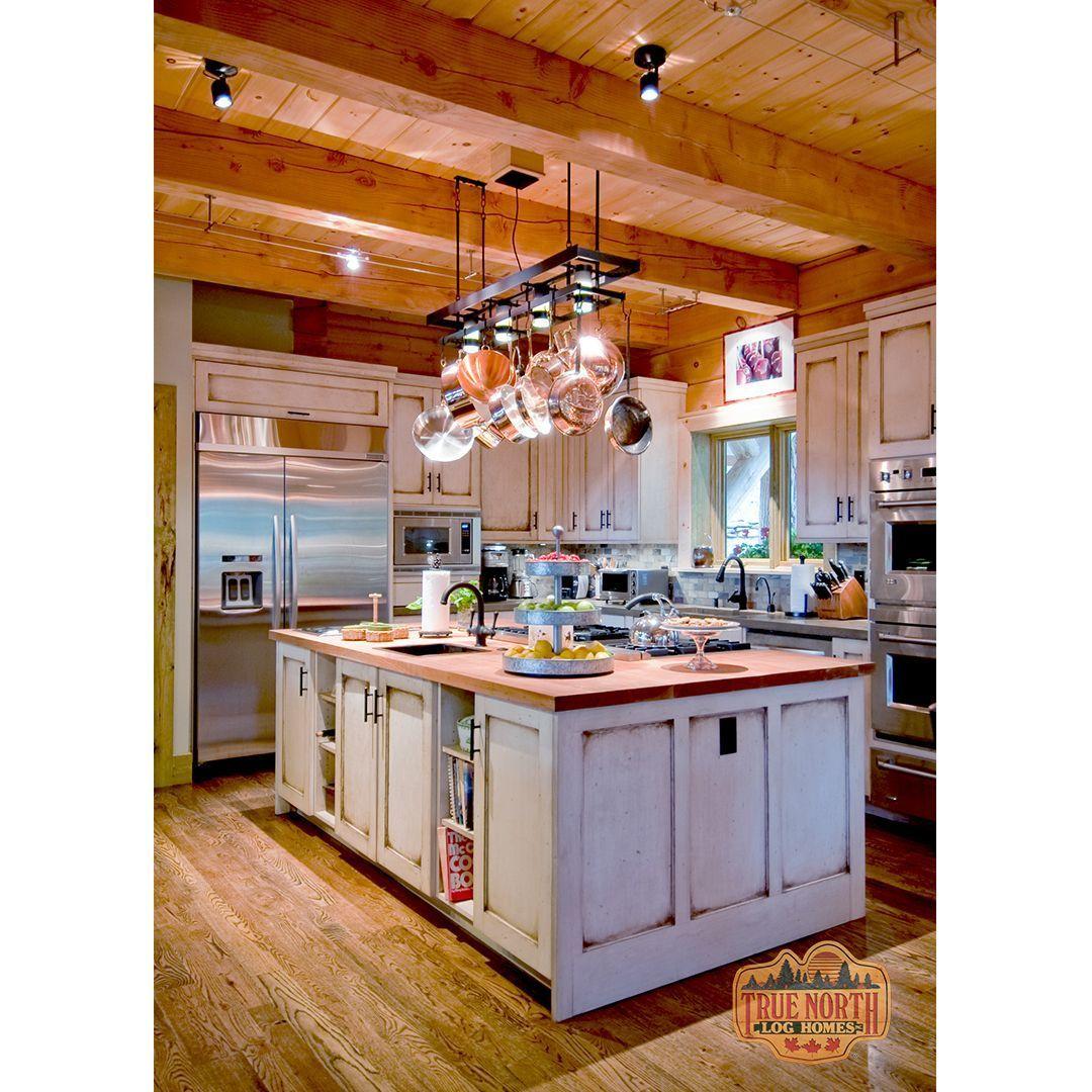 The Morris Residence True North Log Homes in 2020 Log