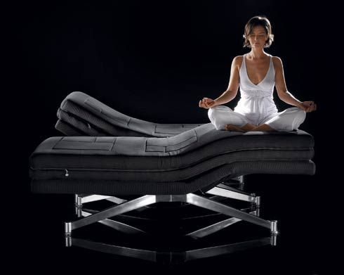 Phi Ton Bed Floating Without A Sub Frame Freshome Com Adjustable Beds Hospital Bed Bed