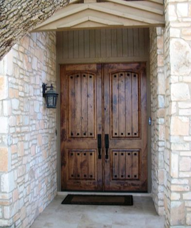Solid Wood Door Gallery The Front Door Company In 2020 Solid Wood Doors Rustic Wood Doors Rustic Doors