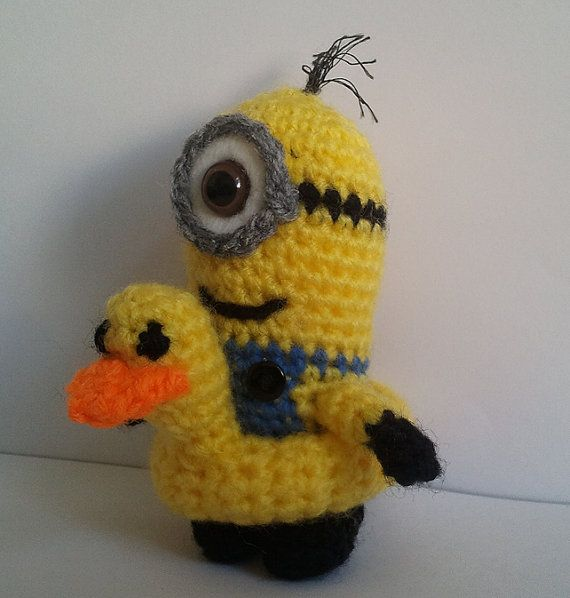 Despicable Me Minion Crochet PATTERN by SnorkersImaginarium, £1.50 ...