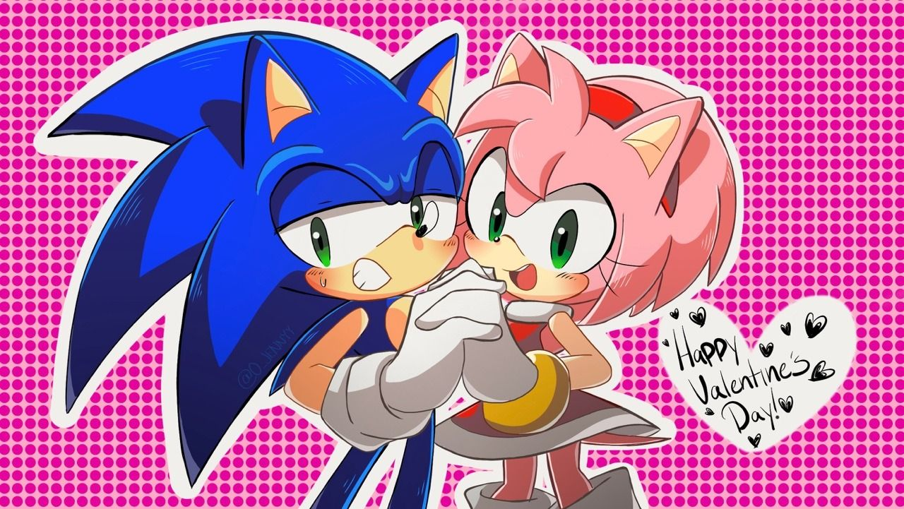 Idea By Banana King On Sonic Sonic Art Sonic And Amy Game