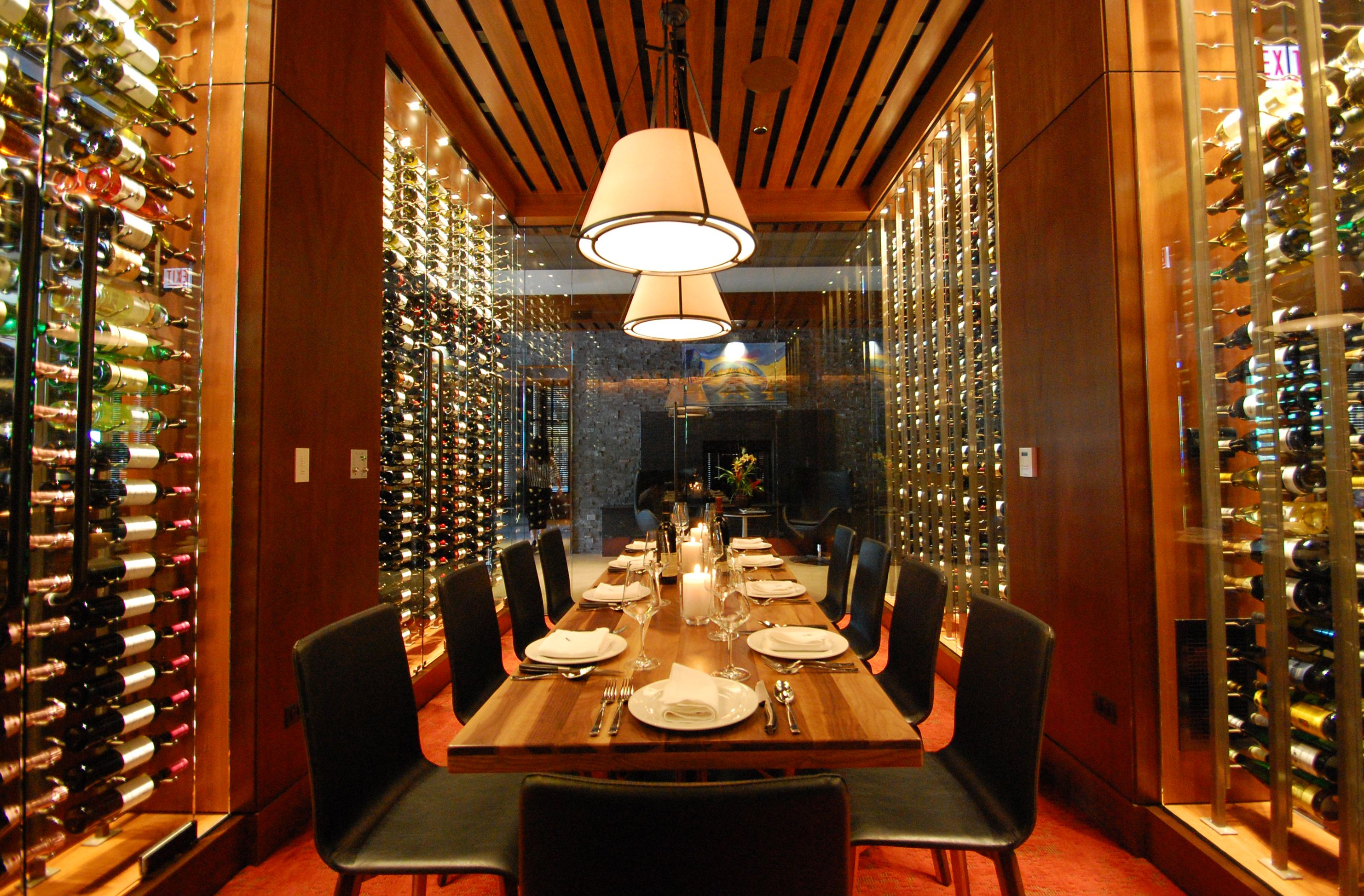 Chicago Restaurants With Private Dining Rooms Entrancing Remington's Private Wine Room Is Beautiful  And Visible To The 2018