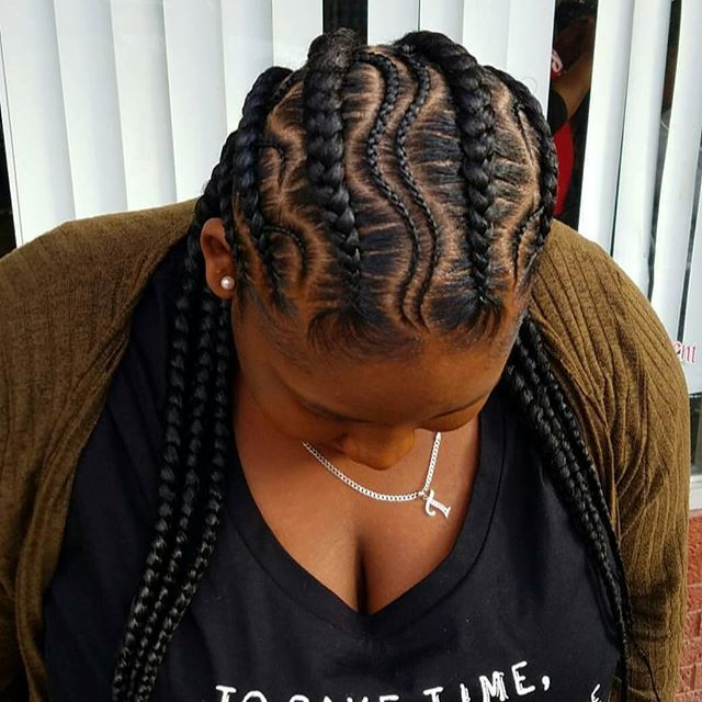 #braids #kidsbraids #braidsislife #cornbraidstyles # ...