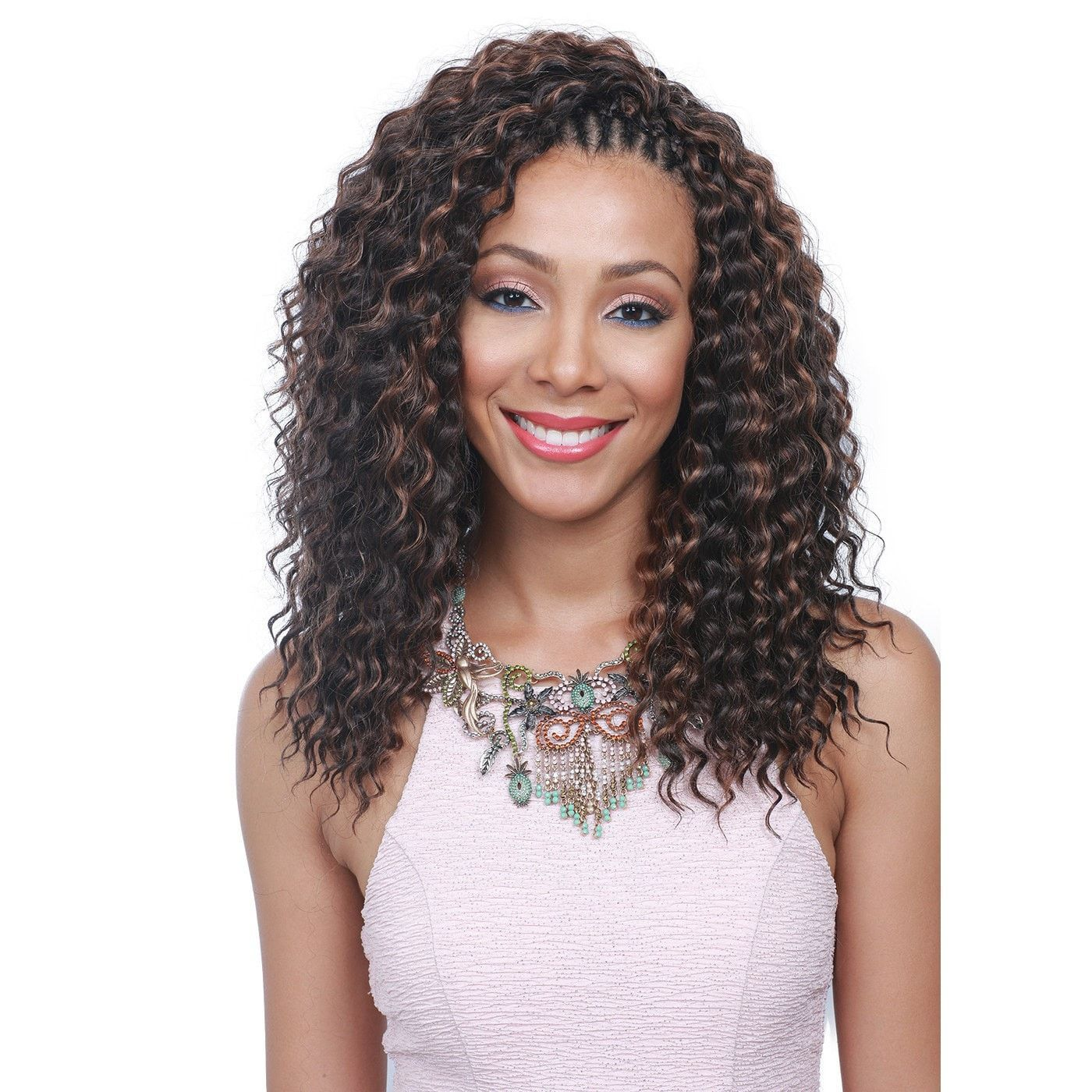 Bobbi Boss Synthetic Crochet Braiding Hair French Deep 12""