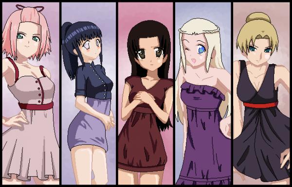 Naruto Sexy Dress Up Game