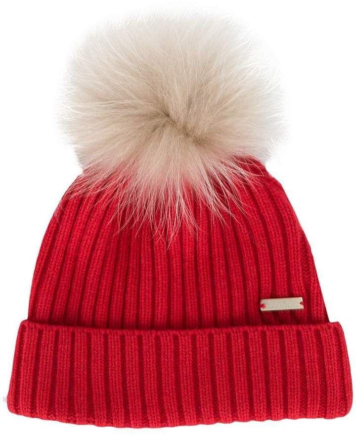 Woolrich pom-pom beanie hat  d808891c521
