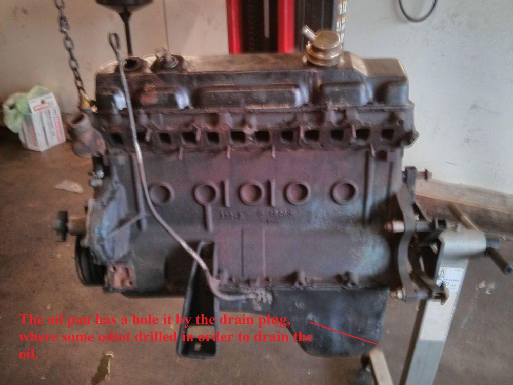 1983 Slant Six 225 cu  in  engine 3 7L inline 6, Super Six Block