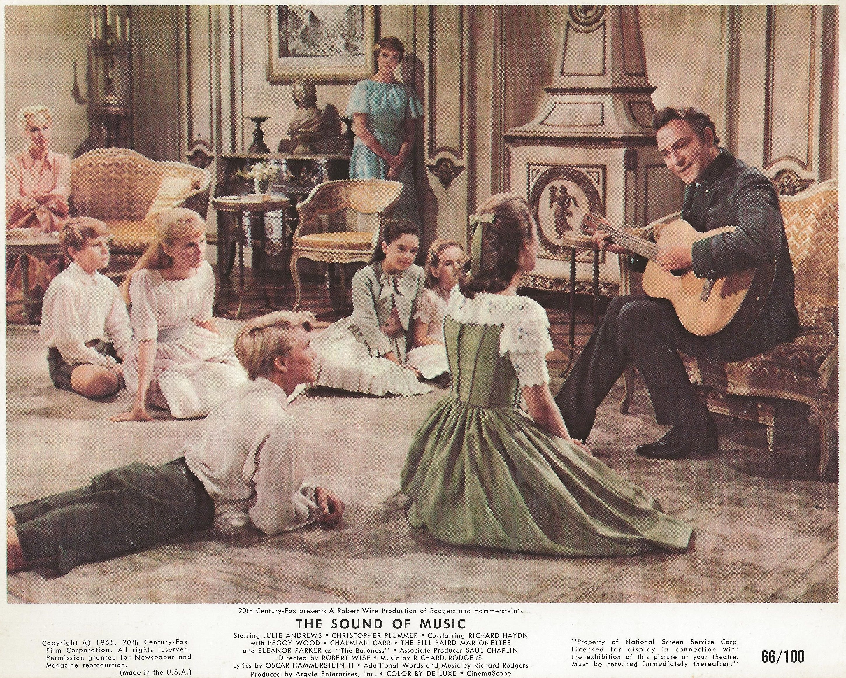 The sound of music 1965 lobby card lobby cards movie posters edelweiss edelweiss every morning you greet me small and white clean and bright you look happy to meet me blossom of snow may you bloom and grow bloom m4hsunfo