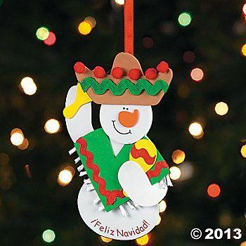 Image Result For Spanish Classroom Christmas Decorations Christmas Crafts Kids Christmas Ornaments Christmas Crafts For Kids