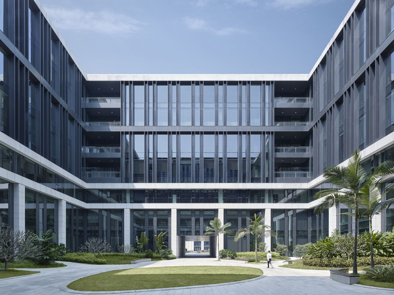 Gallery of china southern power grid green campus offices