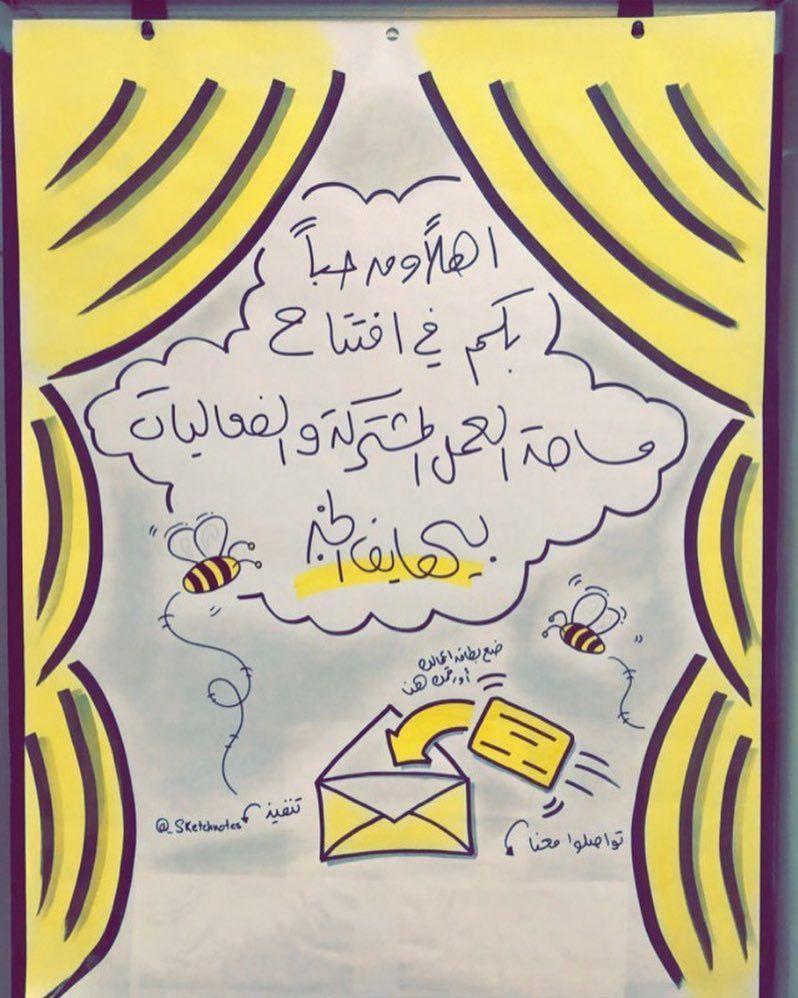 اهداء لعمل بسيط بمناسبة افتتاح Beehivekhobar غدا Calligraphy Arabic Calligraphy