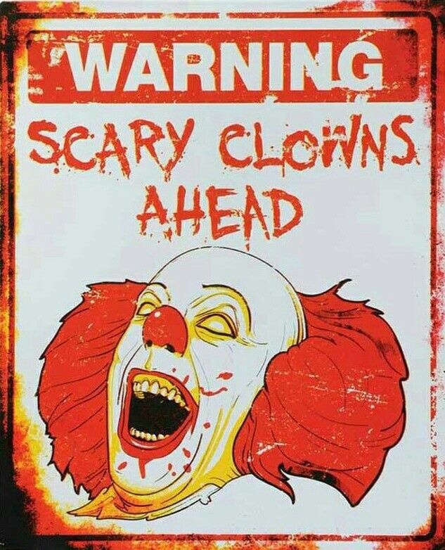 PENNYWISE Scary clowns, Halloween clown, Scary carnival