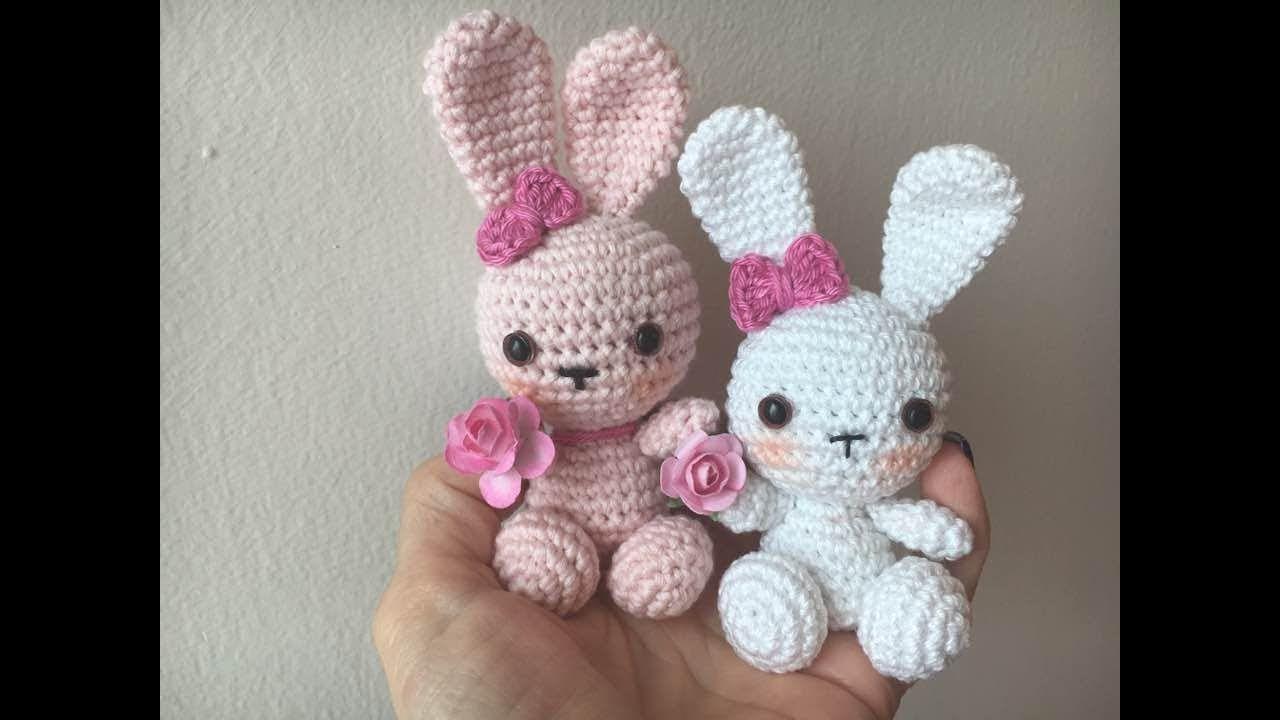 Como tejer conejo para muñeca Aranza amigurumi By petus | Ganchillo ...
