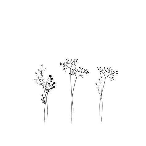 Tiny Tattoo Idea - pinterest // emxoxoem -   13 plants Drawing link ideas