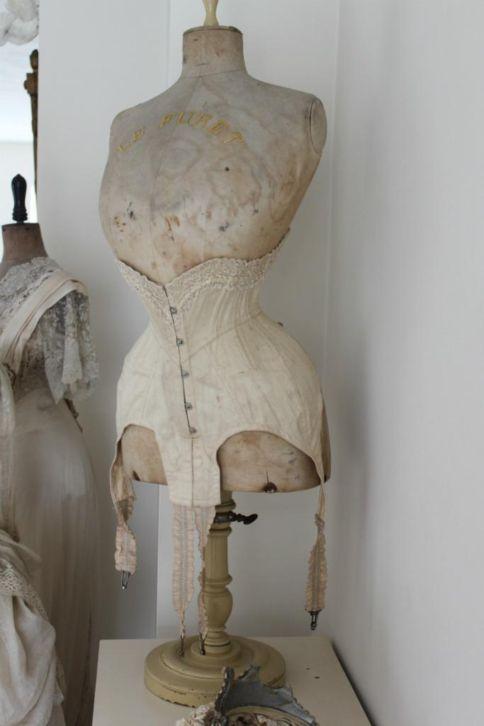 stunning! #mannequin #corset #antique