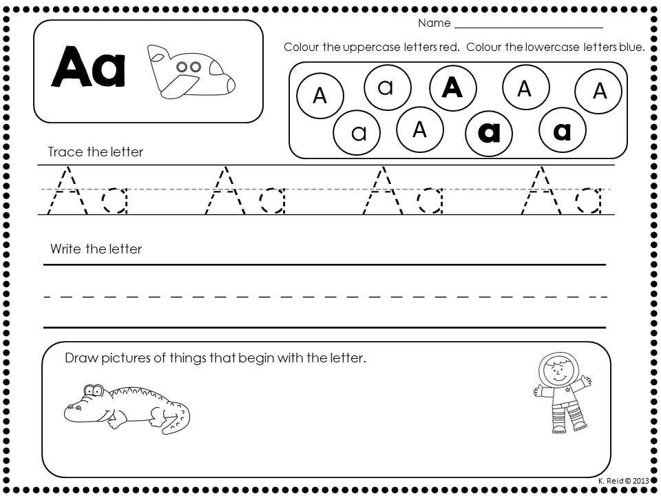 Letters  Letter Sounds  Rti  Alphabet  Students Kindergarten