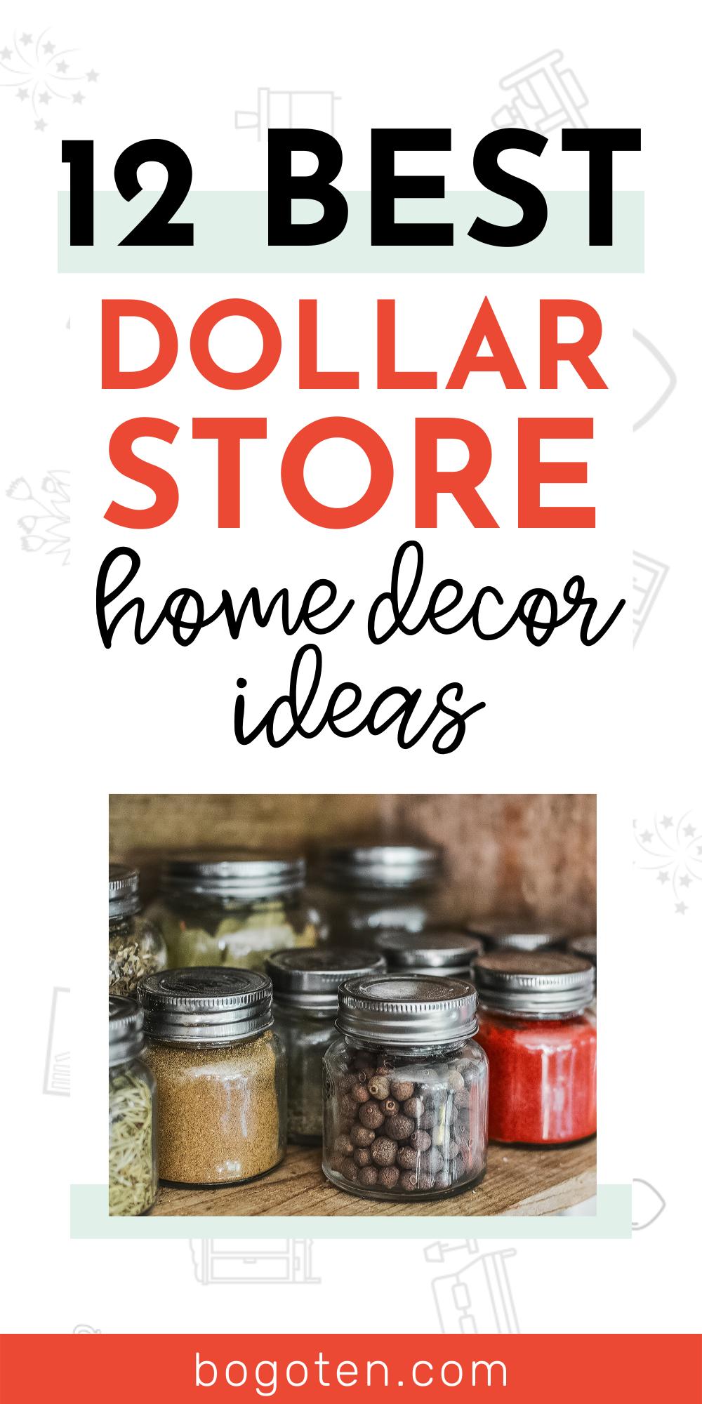 13 Beautiful Home Decor Ideas Using Cheap Dollar Store ...