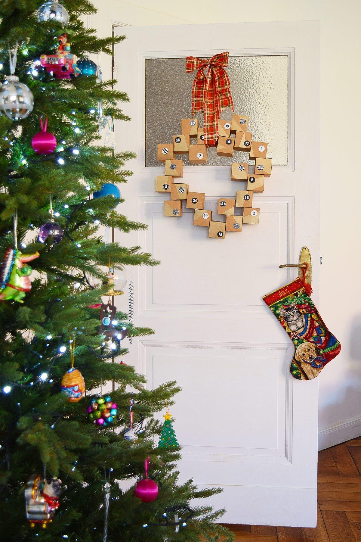 Diy Advent Calendar Wreath A Free Printable