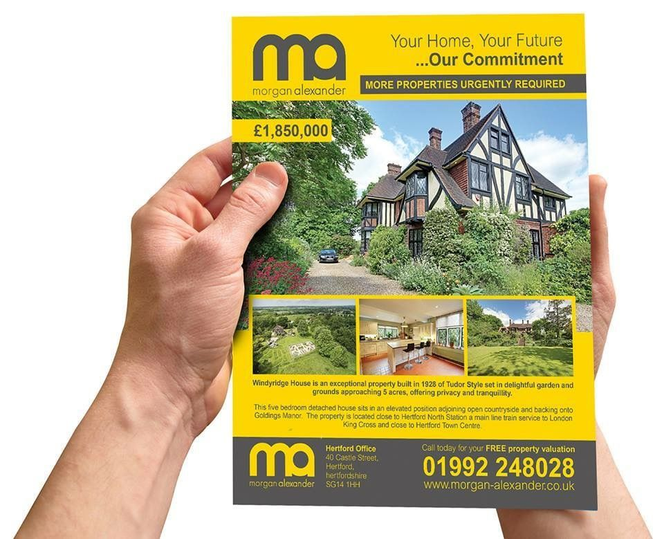 Property Brochure Designed By Creative For Morgan Alexander