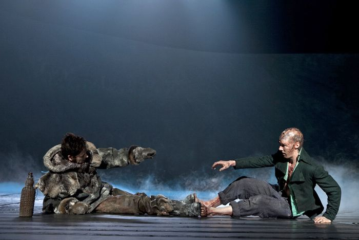 Benedict Cumberbatch And Jonny Lee Miller In Frankenstein National Theatre Live Girl Humor National Theatre