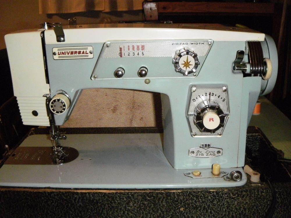 VINTAGE UNIVERSAL BRAND SEWING MACHINE MODEL 40 UNIVERSAL VSM Awesome German Sewing Machines Brands