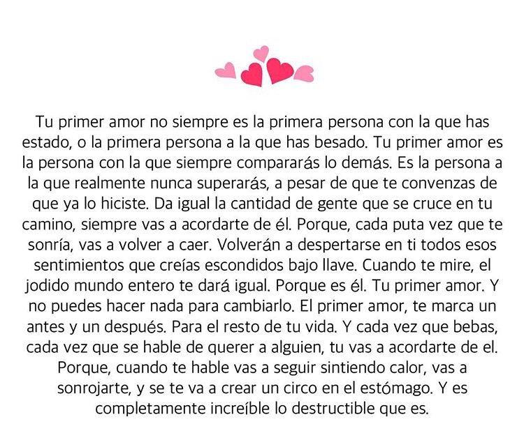 Primer amor...