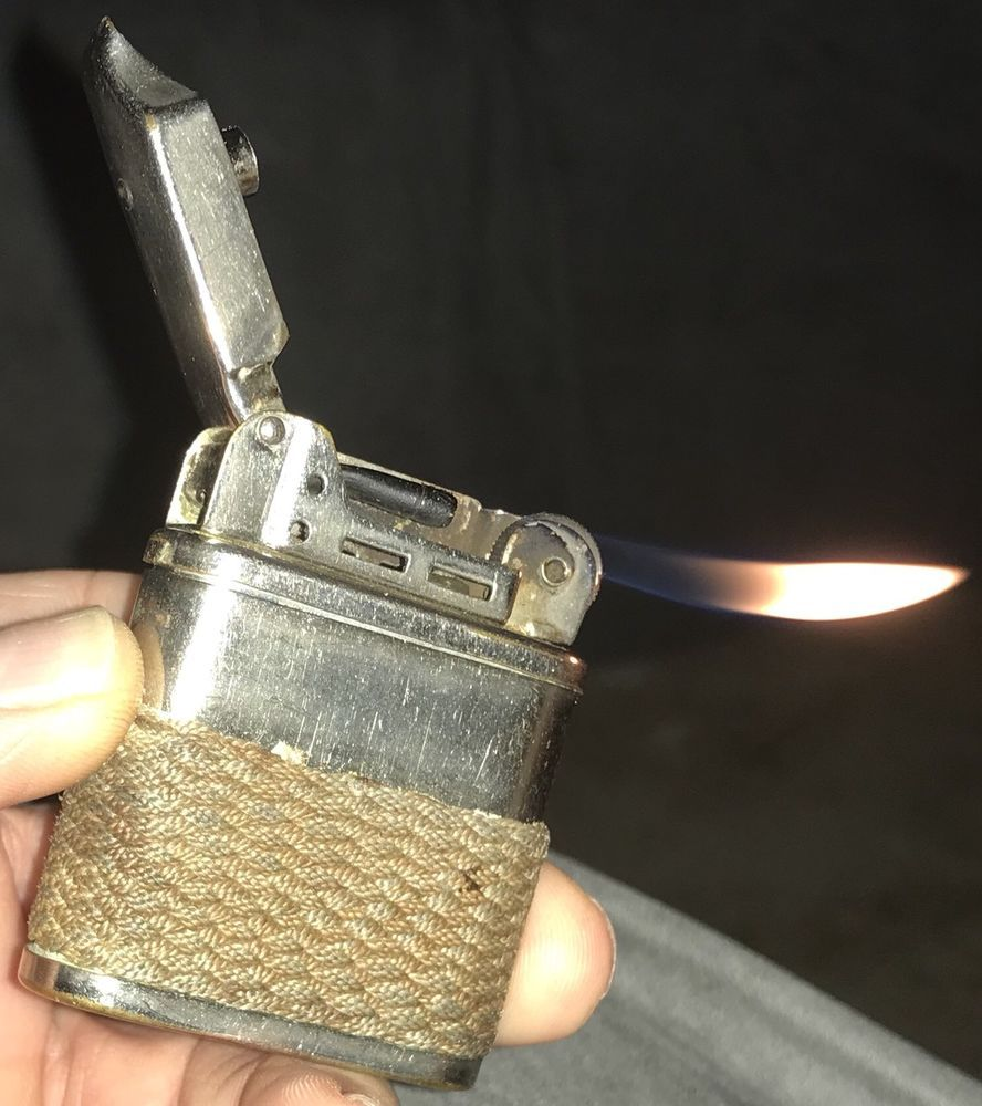 Details about Vintage Early BEATTIE JET LIGHTER Patent 1894300