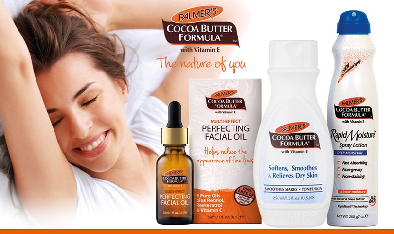 FREE SAMPLES Palmers Cocoa Butter Products (AU SAMPLE