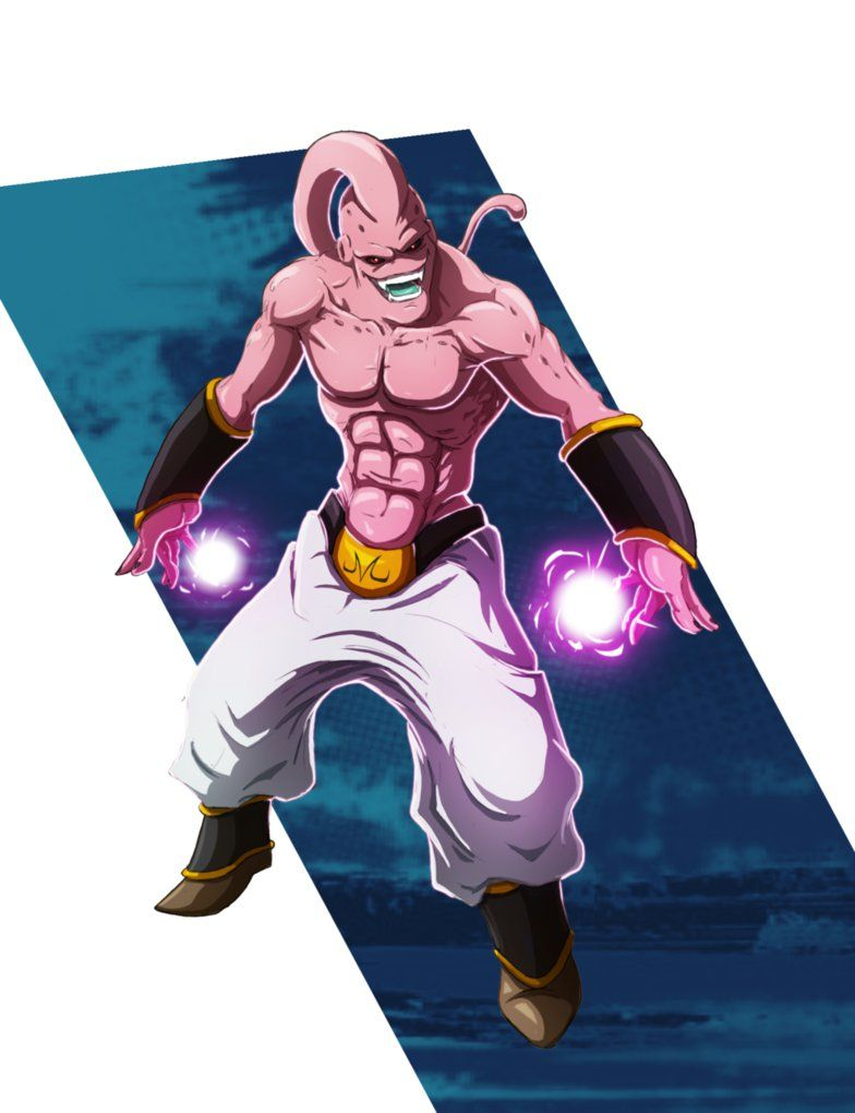 Super Buu Dragon Ball Art Anime Dragon Ball Dragon Ball Super